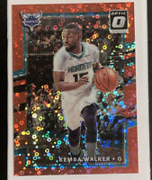 2017-18 Donruss Optic #16 Kemba Walker Red Fast Break Disco Prizm MINT-GEM! /85