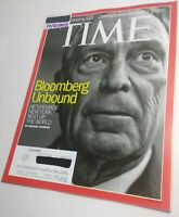 TIME Magazine 10/21/2013 Mayor Michael Bloomberg remade New York City, Near Mint