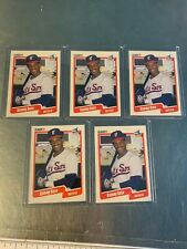 New listing 1990 Fleer Sammy Sosa Rookie Card RC White Sox #548   LOT of 5