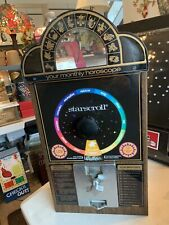 Vintage Star Scroll Astrological 25C. Coin Op Horoscope Vending Machine