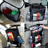 Car Seat Back Storage Bag Travel Tidy Food Multi Pocket Organizer Foldable Bl II
