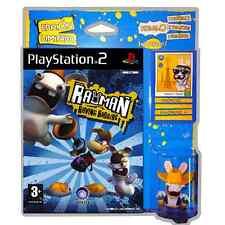 Rayman raving rabbids para PS2, los chiflados conejitos, edición limitada, nuevo