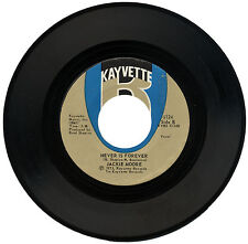 "JACKIE MOORE  ""NEVER IS FOREVER c/w PUTTIN' IT DOWN TO YOU""  70's SOUL   LISTEN!"
