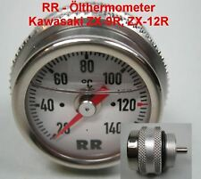 RR Thermomètre d'huile Kawasaki ZX-12R , Ninja, année fab. 2000 oiltemp calibre,