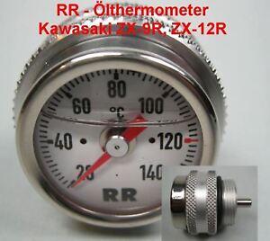 RR Oil Thermometer Kawasaki ZX-12R, Ninja, Year 2000 Oiltemp Gauge, New
