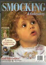 AUSTRALIAN SMOCKING & EMBROIDERY MAGAZINE #27~SUMMER 1994~SMOCKING DESIGNS