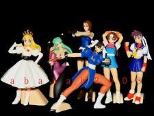 Bandai Capcom gals figure street fighter gashapon (full set of 6 figures)