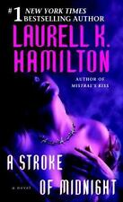 A Stroke of Midnight by Laurell K. Hamilton Paperback Merry Gentry series book 4