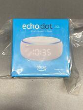 Echo Dot (3rd Gen) with Clock - White