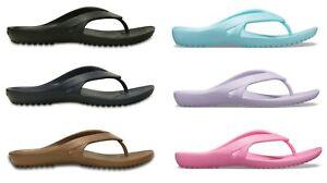 Crocs Womens Ladies Kadee II Lightweight Toe Post Flip Flops Sandals