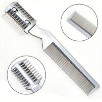 Quality Professional Hair Razor Cutting Device Thinning Trimmer Comb with Blade