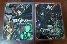 DVD CODE GEASS LELOUCH OF THE REBELLION STAGIONE 1 E 2 + AKITO THE EXILED ANIME