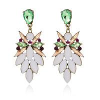 Elegant Women Crystal Resin Wizard Ear Drop Dangle Earrings Fashion Jewelry Gift