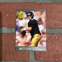 Brett Favre 1991 Rooke Card NFL Green Bay Packers Fleer Ultra Draft Picks HOF