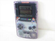 GAME BOY COLOR JUNK Original MARIO ver Console Purple Nintendo CGB-001 /1950 gb