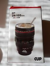 NEW CANON CANIAM EF-14-105 CAMERA LENS COFFEE MUG