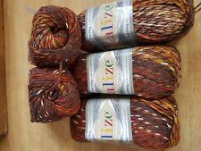 Alize Show Punto Batik Anti Pilling Yarn Chunky 10 x 100g  Knitting Wool Yarn