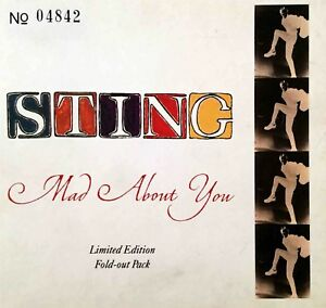 STING : MAD ABOUT YOU [ REMIX + 2 LIVE ] - MAXI-CD LUXE LIMITED EDITION