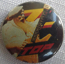 "ZZ TOP Old Vtg 1980`s  Button Pin Badge(25mm-1"") #NB.125"