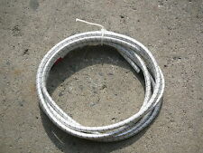 """White/Black Nylon Coated Rubber Rope Shock Cord 3/8"""" X 11' Discounted Bungee"""