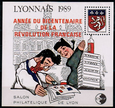 TIMBRE FRANCE BLOC CNEP n°11 NEUF** SURCHARGE  (salon philatélique de LYON )