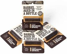 4 Pack-Barrel Aged in a Bottle Oak Infusion Spiral-Barrel Age Whiskey, Rum, Wine