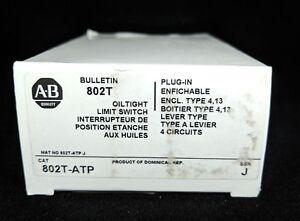 ALLEN BRADLEY 802T-ATP Limit Switch, NEMA Type 4 and 13 Oiltight Construction