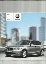 """BMW """"NUOVA"""" SERIE 1, tra cui se e lo sport modelli Brochure listino prezzi luglio 2004"""