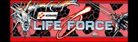 Life Force Arcade Marquee – 26″ x 8″