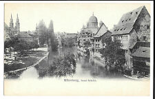 Nurnberg, Insel Schutt, Unposted no 1177by Hermann Martin Undivided Back 1904