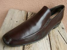 29582a639e5 TO BOOT NEW YORK Mens Dress Shoe Brown Leather Slip On Italian Loafer Size  8.5M