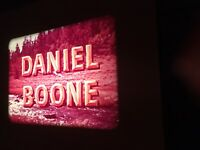 "16mm Color Sound Orig. DANIEL BOONE ""LOVE AND EQUITY"" 2200' Reel/Can"