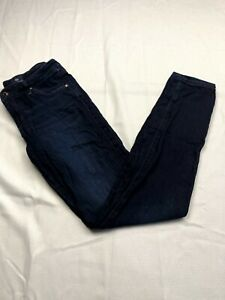 AG Adriano Goldschmied Womens 28R The Legging Super Skinny Blue Jeans