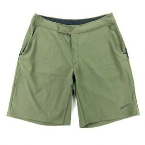 Nike Nadal Men's Fall Power Court Tennis Shorts Army Green • 480240-325 • Large
