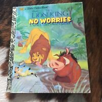 Little Golden Book, The Lion King No Worries A New Story About Simba 1995 1st Ed