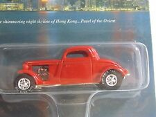 Johnny Lightning 1998 Hong Kong Toy Fair Red FLATHEAD FLYER (1 Of 1000) L.E.