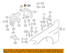 BMW OEM 09-16 Z4-Rr Fender Liner Rivet 51161881149