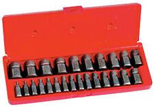 IRWIN HANSON 53227 - 25 Pc. Hex Head Multi-Spline Screw Extractor Set