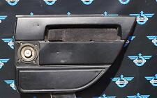 original Türverkleidung, hinten rechts, Leder, schwarz für Volvo 940 bis Mj. `95