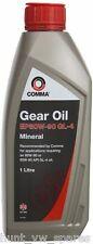 Comma EP80W-90 1L GL4 Gear Oil - GO41L - API GL-4