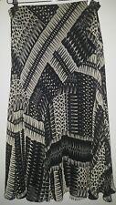 Skirt 14 M&S Black White<MJ2430