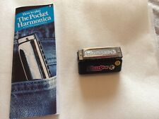 Hohner Silverstar D Pocket Harmonica & How To Play Book Teach Yourself New Skill