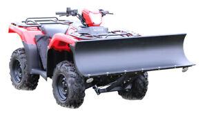 "48"" CYCLE COUNTRY ATV SNOW PLOW, KOLPIN HIGH RISE PUSH TUBE & MOUNT"