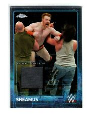 WWE Sheamus 2015 Topps Chrome Event Used Shirt Relic Card Grey