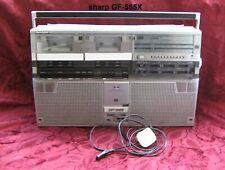 RARE Sharp GF-555X The Searcher Ghettoblaster Boombox 1980s,WORKING !!!