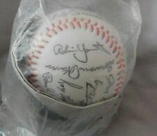 1982 Milwaukee Brewers Signed Facsimile Baseball Sealed