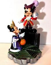 Disney Mickey Minnie Halloween Hook Queen big figure statue LIMITED ED of 180