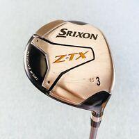 Srixon Z-TX 3-Wood. 15, Stiff - Average Condition, Free Post # 9932