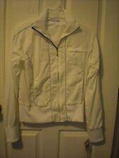 Vintage Ladies Speedo Sailing Wind Breaker Jacket  White Size M NEW