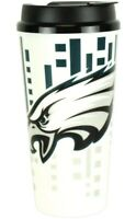 Brand New Philadelphia Eagles Hype Travel Mug Coffee Cup 32 Ounces NFL